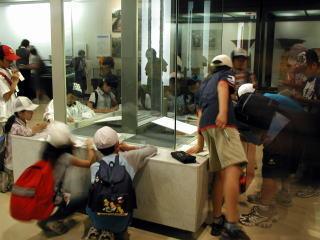 国宝展示室の見学